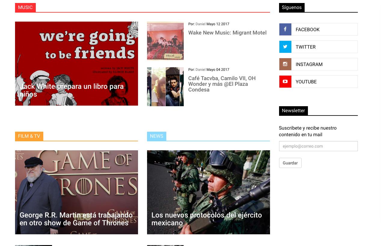 Creación de Artículos de Interés para atracción de flujo de internautas al Sitio.